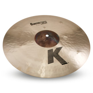 "new zildjian 16"" k cluster crash"