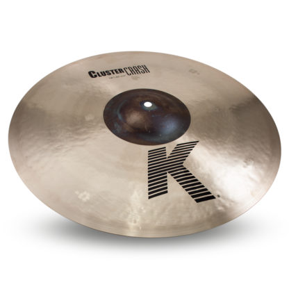 "new zildjian 18"" k cluster crash"
