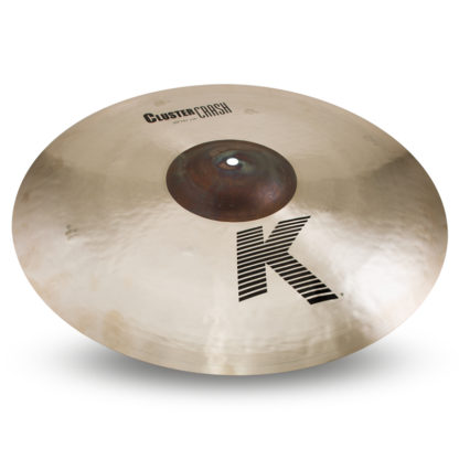 "new zildjian 20"" k cluster crash"