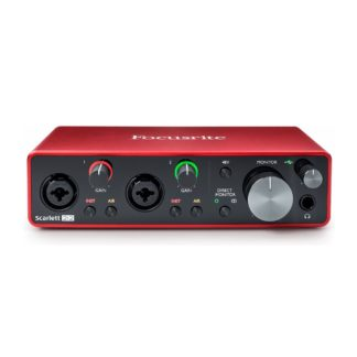 Focusrite Scarlett 2i2 USB Interface
