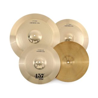 Wuhan 457 3-Piece Cymbal Pack