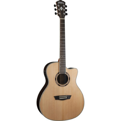 new washburn apprentice ag70ce acoustic electric guitar