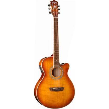 new washburn ea15 acoustic electric guitar