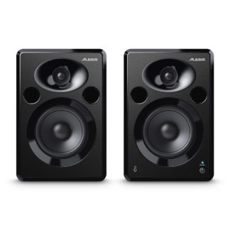 new alesis powered studio speakers