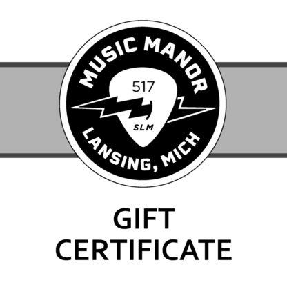 Music Manor Gift Certificate