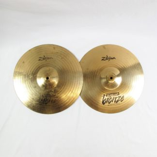 "Used Zildjian 14"" Scimitar Bronze Hi-Hat Pair"