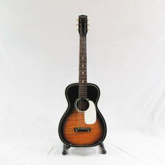 Vintage 1960s Silvertone Acoustic Guitar