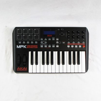 Used Akai MPK225 MIDI Controller