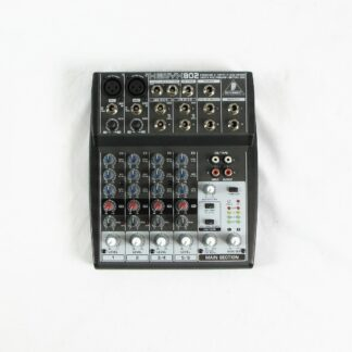 Used Behringer Xenyx 802 Mixer