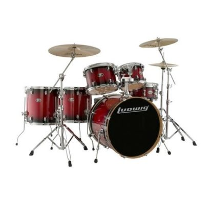 Ludwig LCEM622X 6-Piece Drum Shell Pack