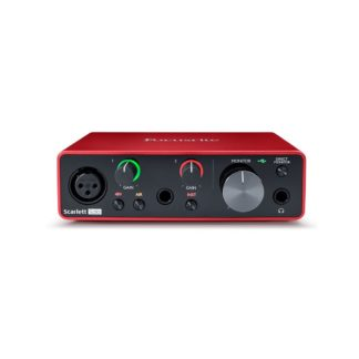 Focusrite Scarlett Solo Gen3 Audio Interface