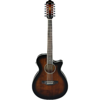 new ibanez aeg1812ii acoustic electric 12-string