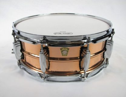 new ludwig 5 x 14 copperphonic snare drum