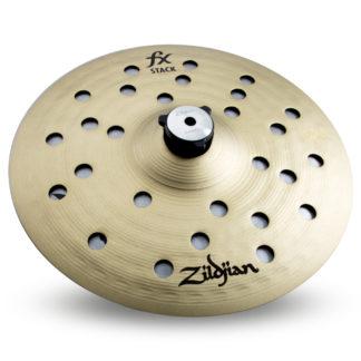 "new zildjian fxs10 10"" cymbal stack"