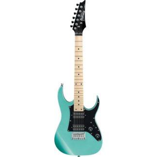 new ibanez 3/4 scale metallic light green guitar