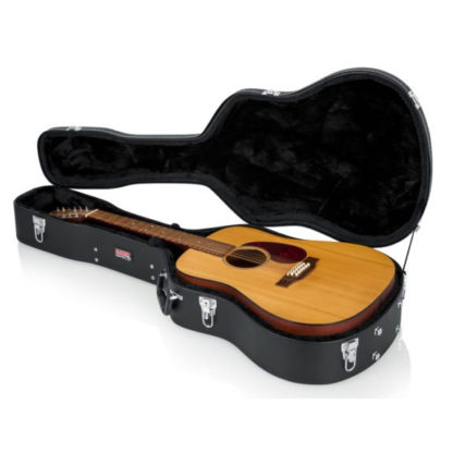 acoustic wooden hard shell case
