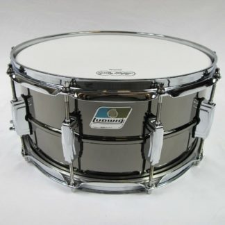 new ludwig lb417b b-stock black beauty snare drum