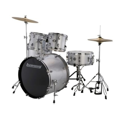 new ludwig accent silver foil