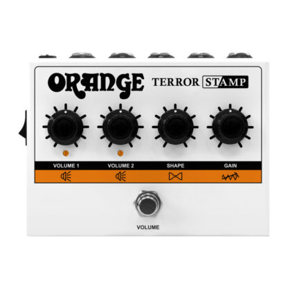 orange terror stamp pedal amp